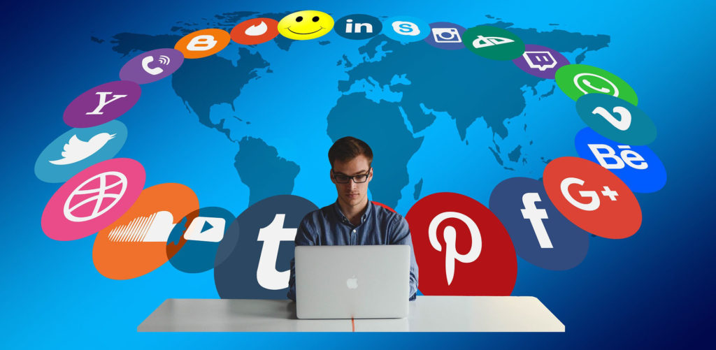 Shitstorm på sociale medier ikoner2