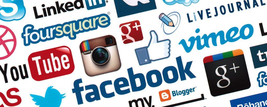 Shitstorm på sociale medier icons