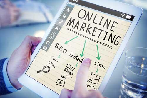 Markedsføring er rykket online